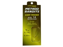 DRENNAN METHOD BANDITS CARP FEEDER BARBLESS