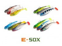 DRENNAN E-SOX JELL-IGNITE (12CM) (27G) SOFT SHADS