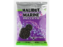 BAIT TECH HALIBUT MARINE PELLETS PRE-DRILLED 8, 12, 16, 20mm
