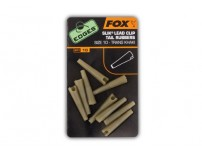 FOX EDGES SLIK LEAD CLIP TAIL RUBBERS SIZE10